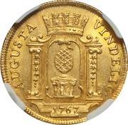1 Ducat - Joseph II – avers