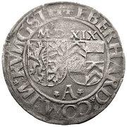 1 batzen Eberhard IV – avers