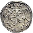 1 pfennig Konrad II. – revers