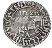 1 Batzen - Eberhard IV. von Königstein-Eppstein – avers