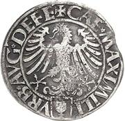1 Batzen - Eberhard IV. von Königstein-Eppstein – revers