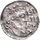 1 denar Heinrich II. – avers