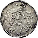 1 pfennig Konrad II. – avers