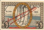 50 Pfennig (Augustenburg) – revers