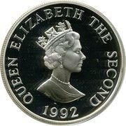 2 livres 40 ans de règne de la reine (argent) – avers