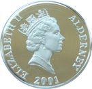 1 Pound - Elizabeth II (75ème anniversaire de la reine) – avers