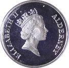 1 Pound - Elizabeth II (Paix en Europe) – avers