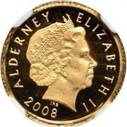 1 Pound - Elizabeth II (4ème portrait ; Concorde) – avers