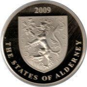 5 Pounds - Elizabeth II (John Woodward) – avers