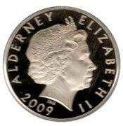 5 Pounds - Elizabeth II (Samuel Hood) – avers