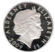 5 Pounds - Elizabeth II (The Mary Rose) – avers