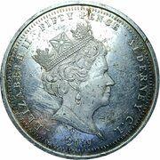 50 Pence - Elizabeth II (75 Anniversary D-Day) – avers
