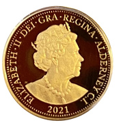 1/8 Sovereign - Elizabeth II (200th Anniversary George and the dragon) – avers