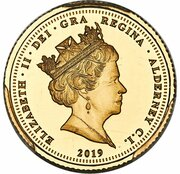 ¼ Sovereign - Elizabeth II (Una and the Lion) – avers