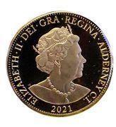 1/8 souverain - Elizabeth II (95ème anniversaire) – avers