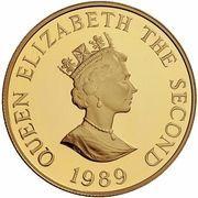 2 Pounds - Elizabeth II (4th Portrait; Royal Visit) – avers