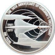 1 Pound - Elizabeth II (The 50th Anniversary of Concorde) – revers