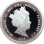 1 Pound - Elizabeth II (The 50th Anniversary of the Moon Landing) – avers