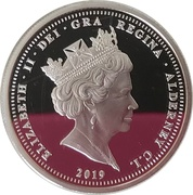 5 Pounds - Elizabeth II (The 200th Anniversary of Queen Victoria) – avers