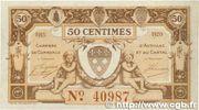 50 centimes - Chambre de Commerce d'Aurillac [15] – avers