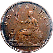 1 Penny (J.M. Leigh - Sydney, New South Wales) -  revers