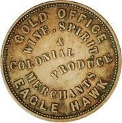 1 Penny (J. W. & G. Williams - Eaglehawk, Victoria) -  avers