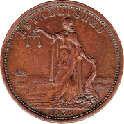 1 Penny (Smith, Peate & Co - Sydney New South Wales) -  avers