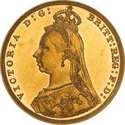 1 Sovereign - Victoria – avers