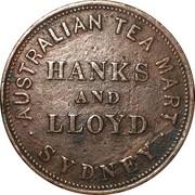 1 Penny Token (Hanks & Lloyd - Sydney, NSW) -  avers
