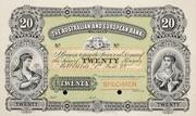 20 Pounds (Australian and European Bank) – avers