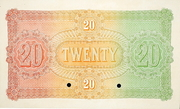 20 Pounds (Australian and European Bank) – revers