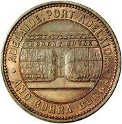 ½ Penny (Crocker & Hamilton - Adelaide, South Australia) -  avers