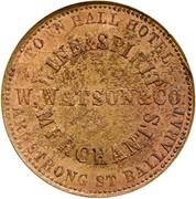 1 Penny (Watson & Co - Ballarat, Victoria) – avers