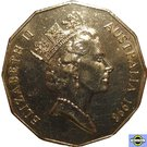 50 Cents - Elizabeth II (Bass & Flinders) – avers