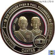 1 Dollar - Elizabeth II (6th Portrait - QANTAS - Fysh and McGinness) -  revers