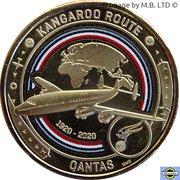 1 Dollar - Elizabeth II (6th Portrait - QANTAS - Global Airline - Super Constellation) -  revers