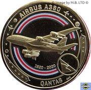 1 Dollar - Elizabeth II (6th Portrait - QANTAS - Meeting the Challenge - Airbus A380) -  revers