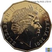 50 cents Nouvelle-Galles du Sud -  avers