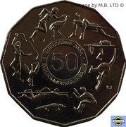 50 cents - Elizabeth II (XVIIIe Jeux du Commonwealth) -  revers
