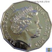 50 Cents- Elizabeth II (Shores Under Siege) -  avers