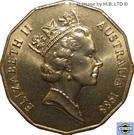 50 Cents - Elizabeth II (First Fleet) – avers