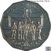 50 Cents - Elizabeth II (Australian Flying Corps) – revers