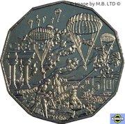 50 Cents - Elizabeth II (Crete) – revers