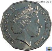 50 Cents - Elizabeth II (Malayan Emergency) -  avers