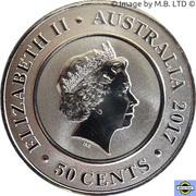 50 Cents - Elizabeth II (Planetary Coins - Jupiter) – avers