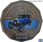 50 Cents - Elizabeth II (Ford Model T) -  revers