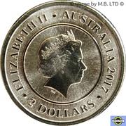 1 Dollar - Elizabeth II (Planetary Coins - Mars) -  avers