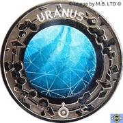 20 Cents - Elizabeth II (Planetary Coins - Uranus) – revers