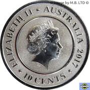 10 Cents - Elizabeth II (Planetary Coins - Earth) – avers