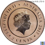 2 Cents - Elizabeth II (Planetary Coins - Venus) – avers